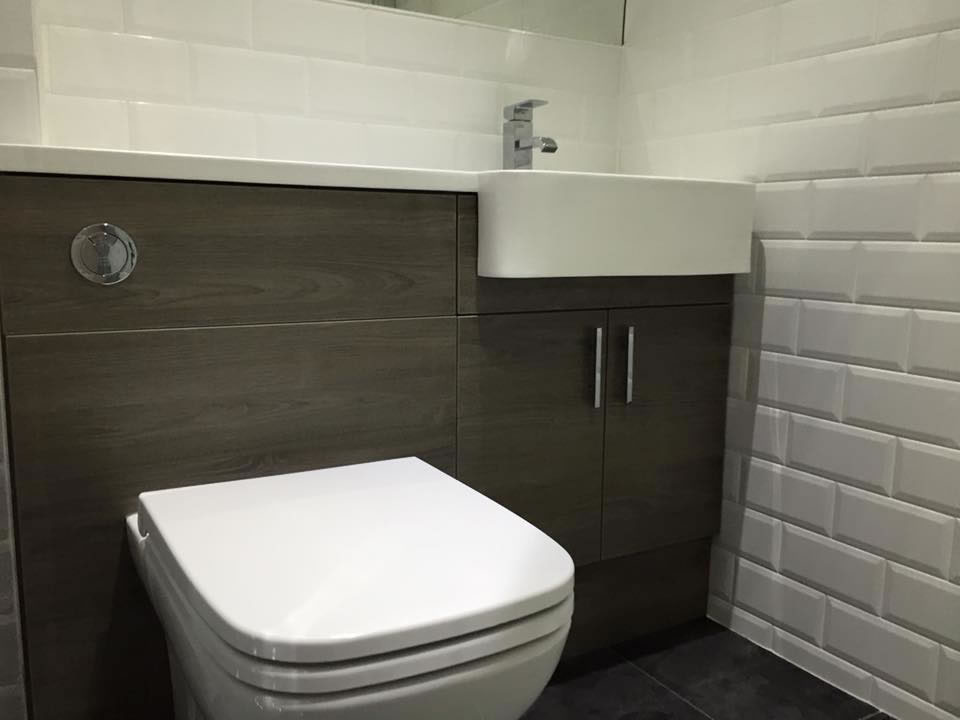 Picture of Tiled Toilet Area